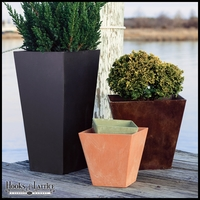 Eloquence Square Planters