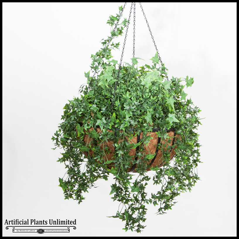 Hanging Basket Outdoor Rated Click To Enlarge