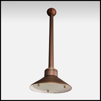 Envoy Low Voltage Ceiling Mounted Light - Weathered Brass