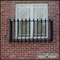 European Faux Balcony w/ Flat Iron Bowed Balusters