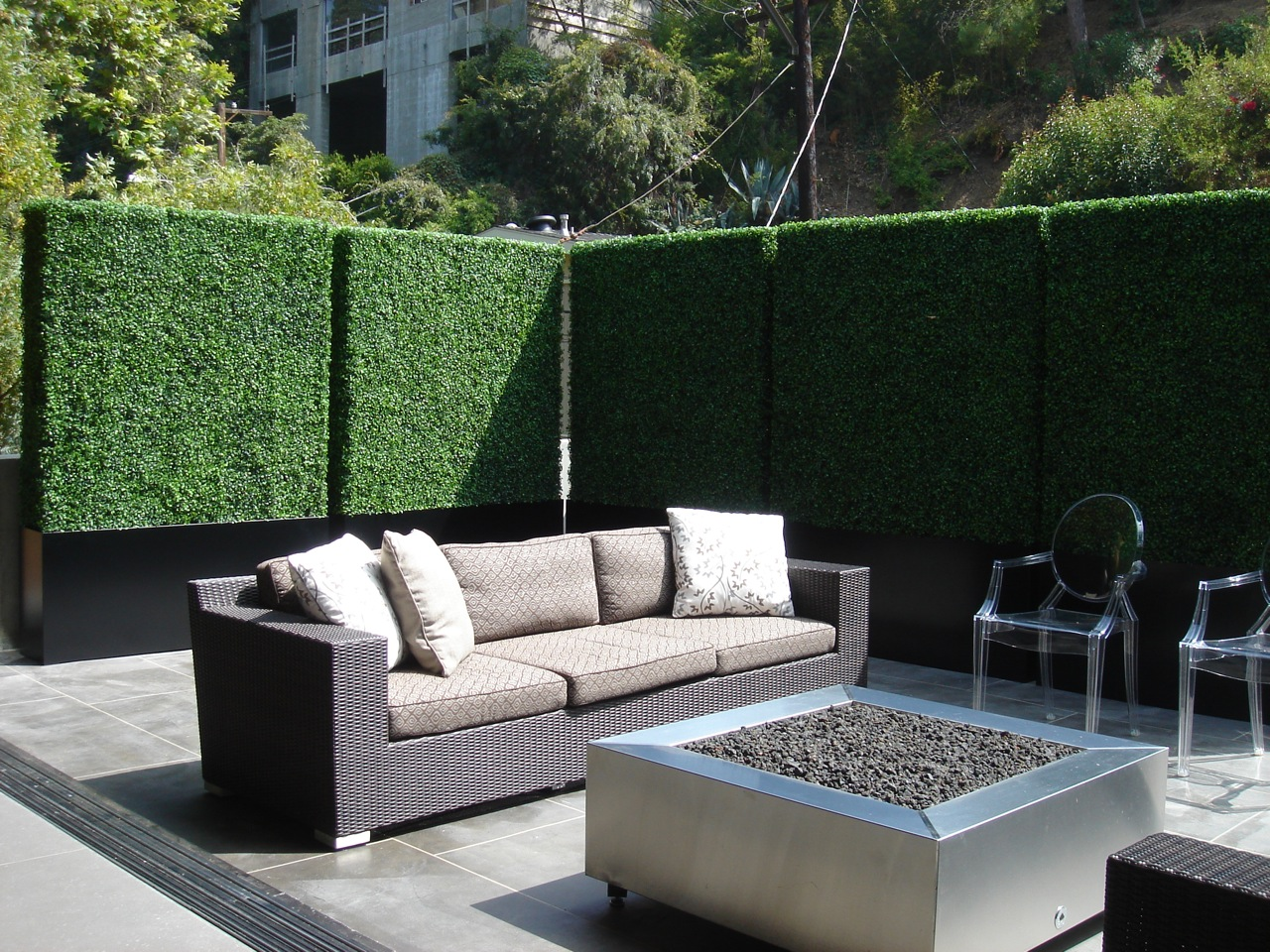 Balcony privacy screen outdoor privacy screens privacy hedge for Large outdoor privacy screen