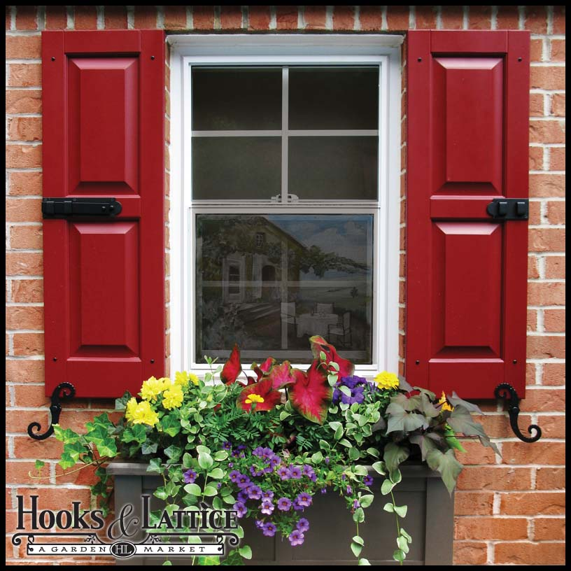 Window Shutters Exterior Shutters Hooks Lattice
