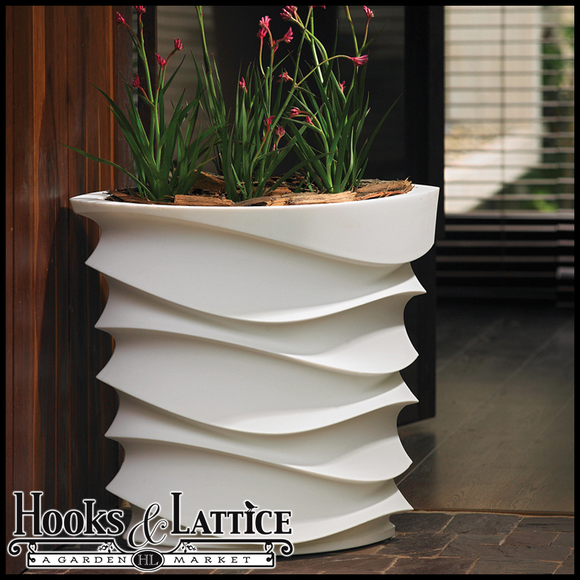 Expressions Contemporary Planter - Unusual Modern Indoor Planters