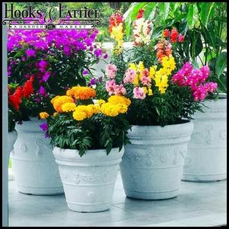 Resin Planters & Flower Pots