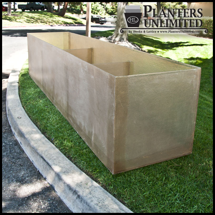 Fiberglass Planter Liners For Large Planter Boxes