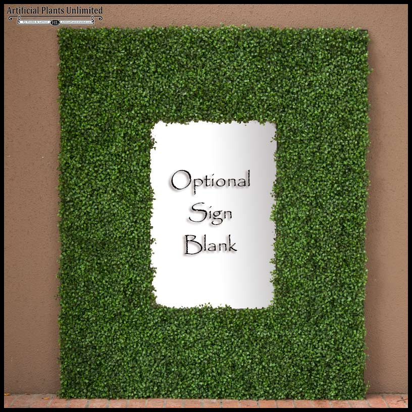 Exterior Boxwood Mat Wall Panel|Artificial Plants Unlimited