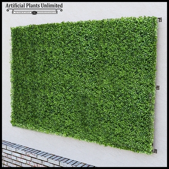Fire Retardant Artificial Boxwood Living Wall