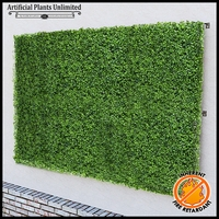 Boxwood Fire Retardant Artificial Living Wall 96in.L x 60in.H