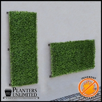 Boxwood Fire Retardant Artificial Living Wall 48in.L x 24in.H