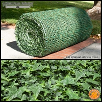 8' English Ivy Fire Retardant Artificial Roll