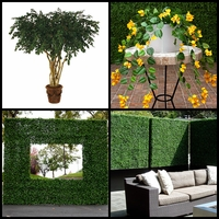 Fire Retardant Plants, Trees, Topiaries & Hedges