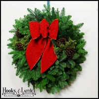 Christmas Celebration Wreath - 24in