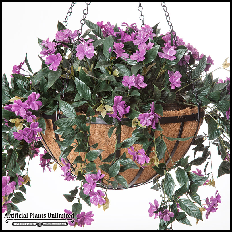 Artificial Hanging Baskets Artificial Plants Unlimited