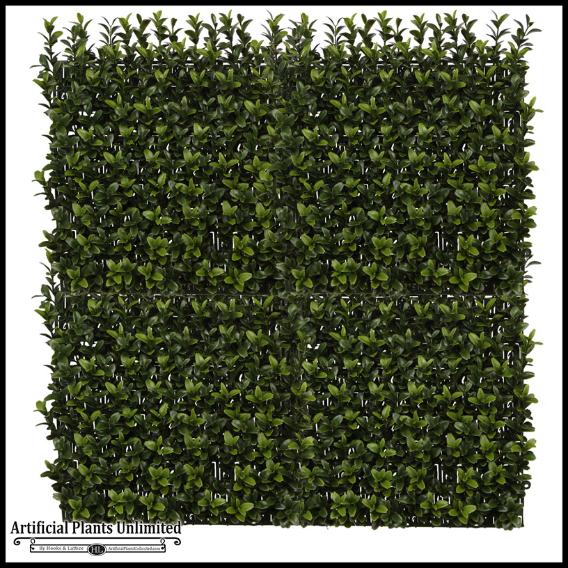outdoor artificial foliage panels | artificial plants unlimited