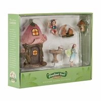 Forest Fairy Garden Kit - Bunnies and Fairies