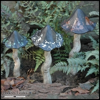 Forest Falls Tippy Toadstool Statues