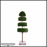 Four Layer Zen Grass Topiary 6'