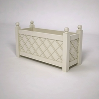 French Lattice Premier PVC Planter 48in.L x 18in.W x 24in.H