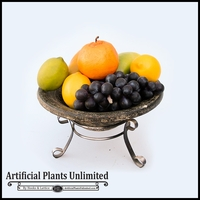 Fruit in Bowl with Stand