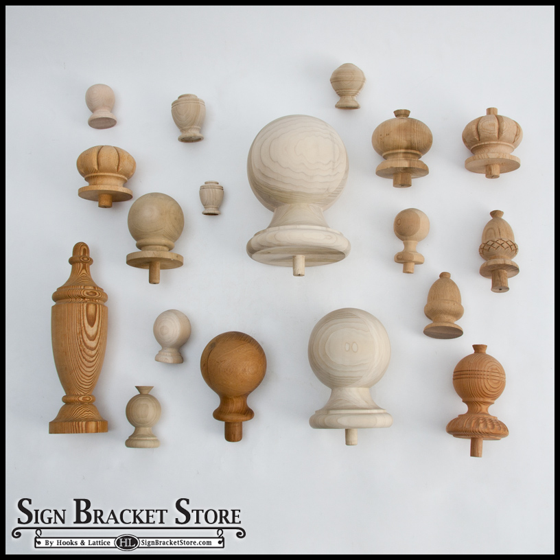 Wood small wood finials pdf plans for Wooden finials for crafts