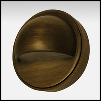 Gemini Low Voltage Step Light - Weathered Brass