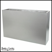 Genever Fiberglass Tall Rectangular Planter