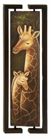 Giraffe-Themed Wall Art