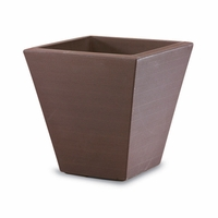 Glendon 16in. Tapered Square Planter - Vintage Copper