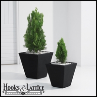 Glendon Tapered Square Planters