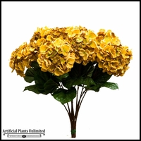 Gold Hydrangea Spray - Set of 12