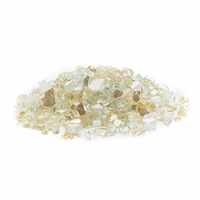 Gold Reflective Fire Glass - 25 lbs - Medium Half Inch
