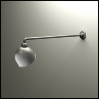 "Gooseneck Light - 37 1/2""L x 3/4"" Dia Arm - 10"" Domed Shade"