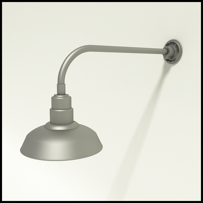 Gooseneck Lighting With Warehouse Shade