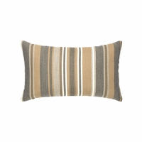 Grigio Stripe Lumbar Outdoor Rated Pillow