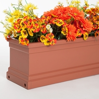 Terra Cotta Supreme Fiberglass Window Box
