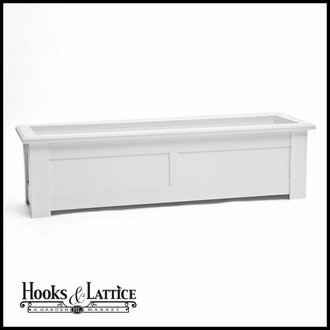 "Hampton Deck Planter w/ Feet 60""x12""x12"""