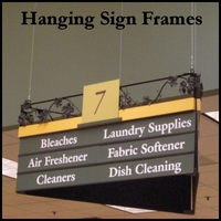 Hanging Sign Frames