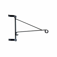 Heavy Duty Scroll Arm Wall Mount Hanging Basket Bracket