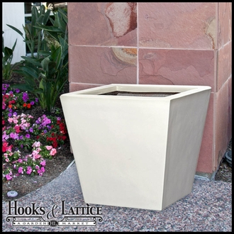 High Gloss Tapered Planters