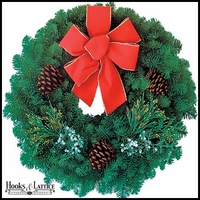 Christmas Traditions Wreath - 20in.