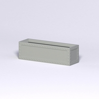 Hughes Riveted Fiberglass Rectangular Planter  60in.L x 18in.W x 18in.H