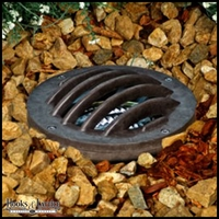 In-Ground LED Well Light with Grill - Bronze