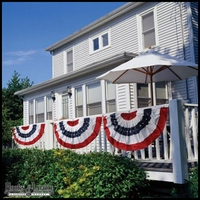 "Independence Day Bunting Flag - 44""x28"""