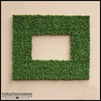 Boxwood Indoor Artifical Frame 50in.L x 50in.H w/ 26in.L x 26in.H Opening