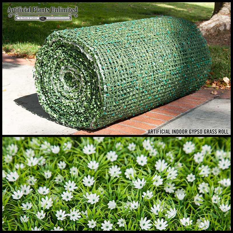 Indoor Evergreen Faux Podocarpus Roll Artificial Plants