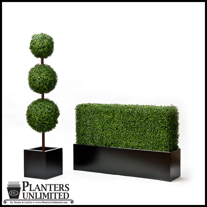 indoor artificial hedges | indoor faux hedges | fake boxwood hedges