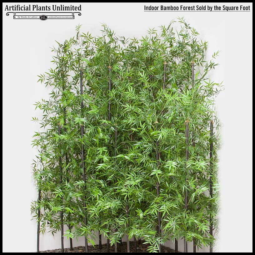 Landscaping Ideas Bamboo Plants : Outdoor artificial bamboo plants at hooks lattice