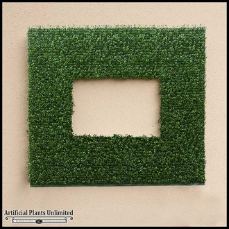 Indoor Faux Foliage Frames