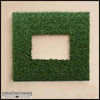 Duraleaf Japanese Boxwood Frame, 38inL x 25inH w/ 26inL x 13inH Opening