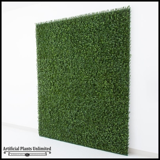 Japanese Boxwood Indoor Artificial Living Wall 96inL x 60inH